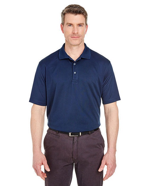 UltraClub 8405T Men Tall Cool & Dry Sport Polo at GotApparel
