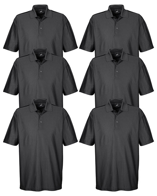 Ultraclub 8415 Men Cool & Dry Elite Performance Polo 6-Pack at GotApparel