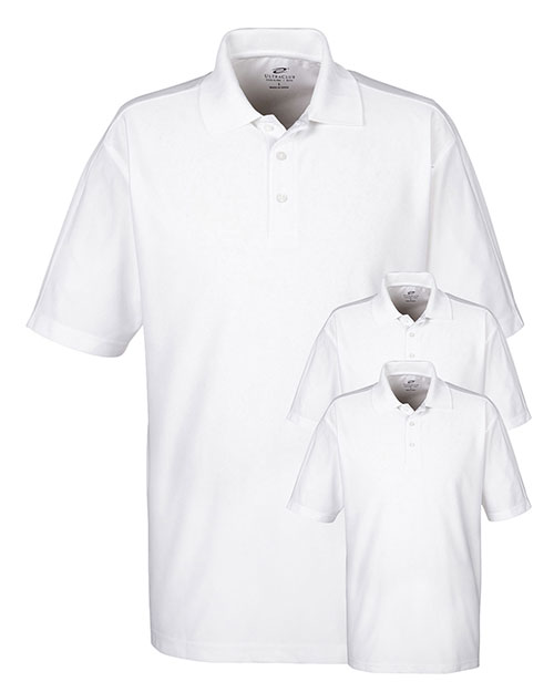 Ultraclub 8415 Men Cool & Dry Elite Performance Polo 3-Pack at GotApparel