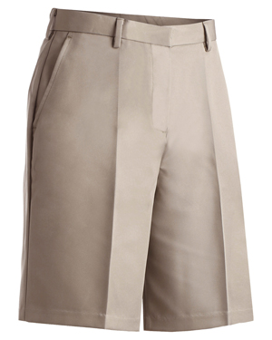 Edwards 8422 Women Soft Silky Drape Microfiber Flat Front Shorts at GotApparel