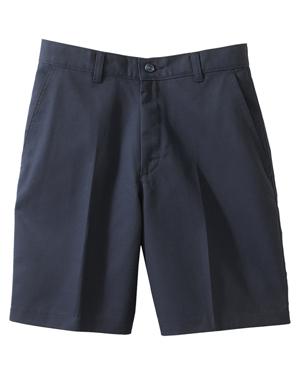 Edwards 8459 Women Moisture Wicking Zipper Back Pocket Flat Front Short at GotApparel