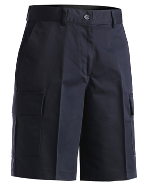 Edwards 8468 Women Moisture Wicking Button Closuer Two Cargo Pocket Short at GotApparel