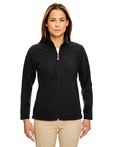 Ultraclub 8498 Women Microfleece Full-Zip Jacket at GotApparel