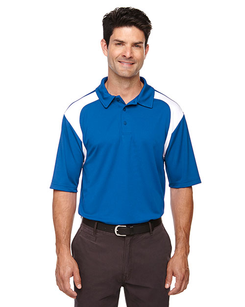 Extreme 85105 Men Eperformance Colorblock Textured Polo at GotApparel