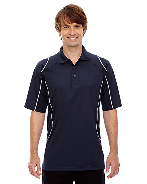 Extreme 85107 Men Eperformance Velocity Snag Protection Colorblock Polo with Piping at GotApparel