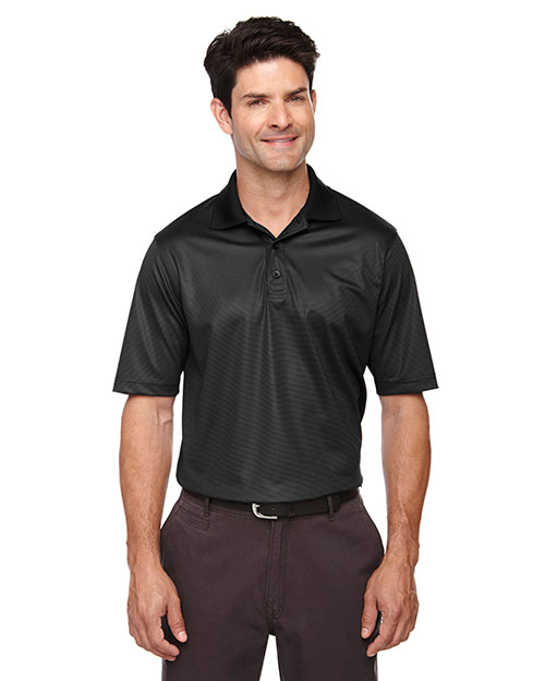 Extreme 85115 Men Eperformance Launch Snag Protection Striped Polo at GotApparel
