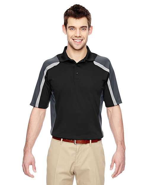 Extreme 85119 Men Eperformance Strike Colorblock Snag Protection Polo at GotApparel