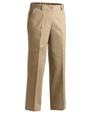Edwards 8567 Women Flat Front Chino Utility Pant at GotApparel