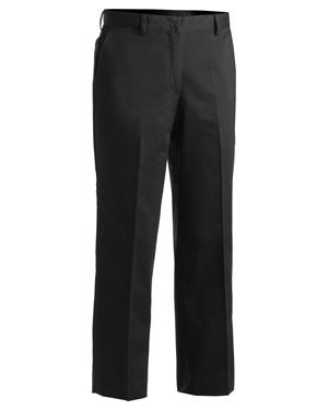 Edwards 8572 Women Microfiber Flat Front Dress Pant at GotApparel