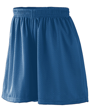Augusta 859 Girls Tricot Mesh/Lined Training Short at GotApparel