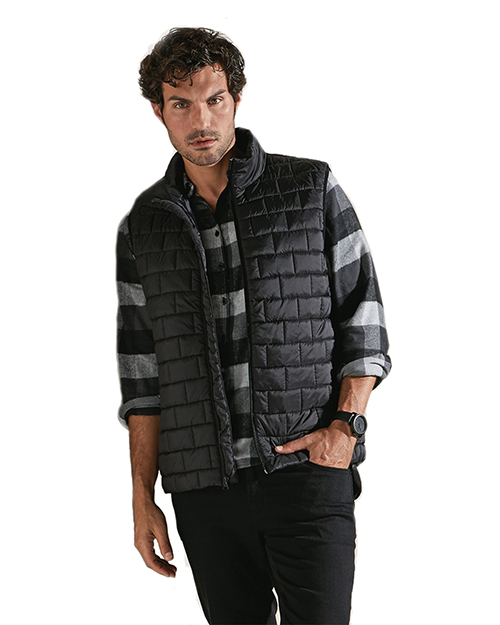 Burnside 8703 Men Elet Puffer Vest at GotApparel