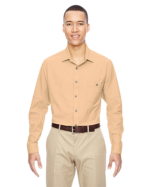North End 87045 Men Excursion Utility Two-Tone Performance Shirt at GotApparel