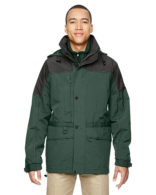 North End 88006 Men 3-In1 Two-Tone Parka at GotApparel