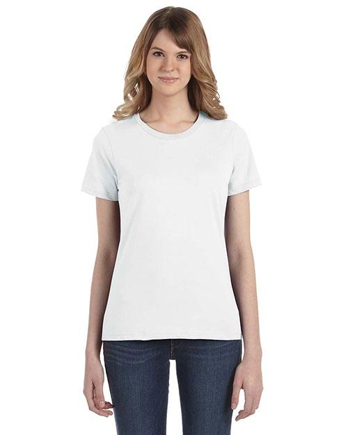 Anvil 880 Women Ringspun Fashion Fit T-Shirt at GotApparel