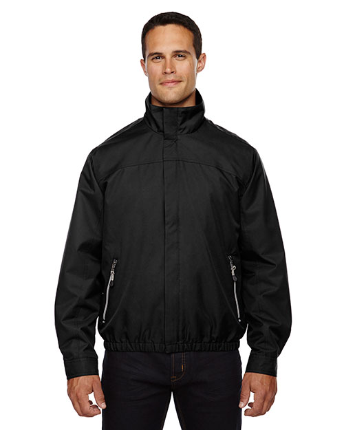 North End 88103 Men Bomber Micro Twill Jacket at GotApparel