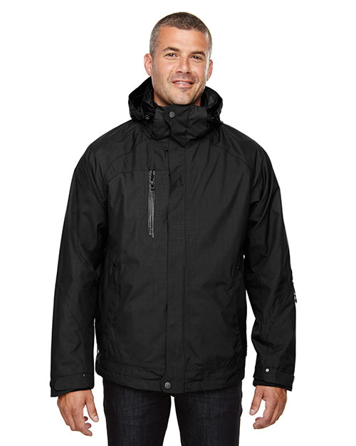 North End 88178 Men Caprice 3-in-1 Jacket with Soft Shell Liner at GotApparel