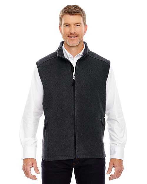 Core 365 88191 Men Journey Fleece Vest at GotApparel