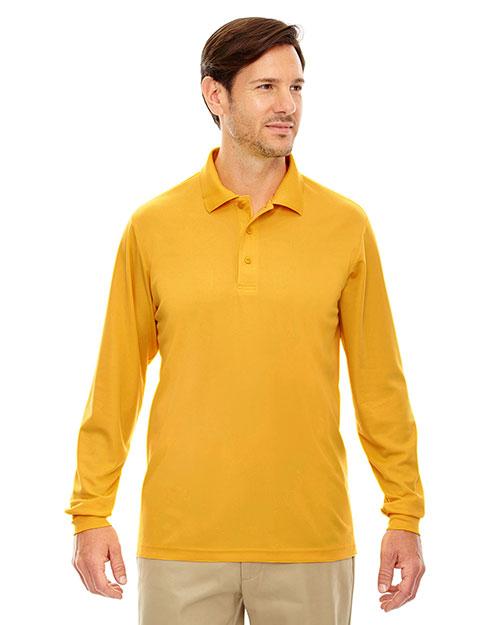 Core 365 88192 Men Pinnacle Performance Long-Sleeve Pique Polo at GotApparel