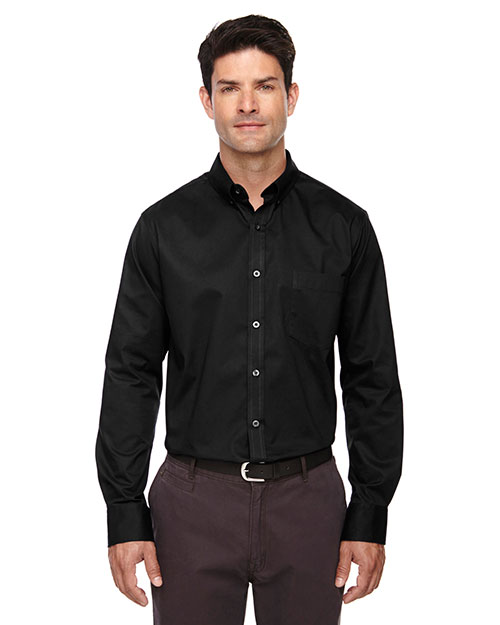 Core 365 88193T Men Tall Operate Long-Sleeve Twill Shirt at GotApparel
