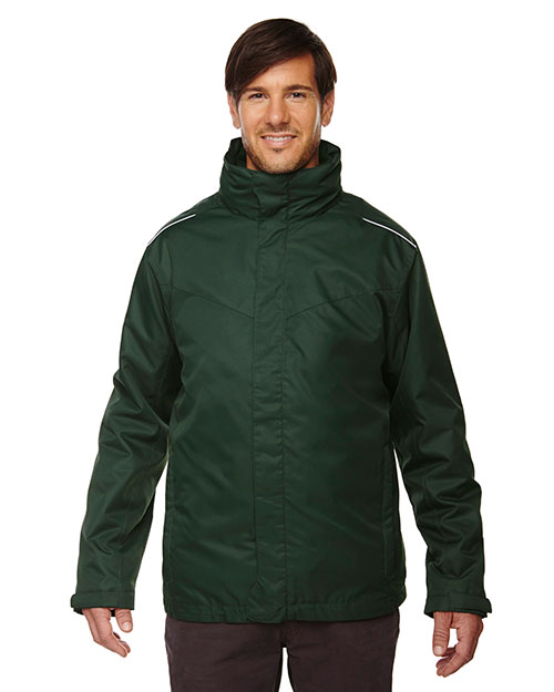 Core 365 88205 Men Region 3-in-1 Jacket with Fleece Liner at GotApparel