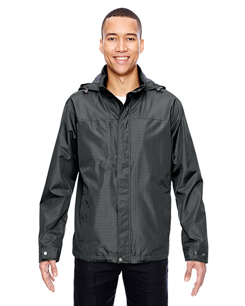 North End 88216 Men Excursion Transcon Lightweight Jacket with Pattern at GotApparel