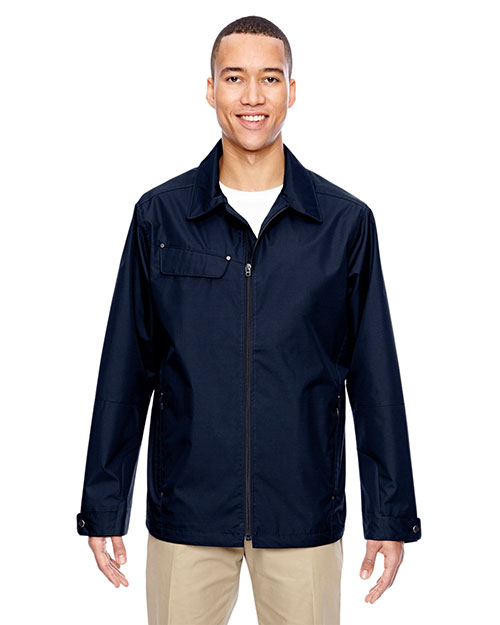 North End 88218 Men Excursion Ambassador Lightweight Jacket with Fold Down Collar at GotApparel