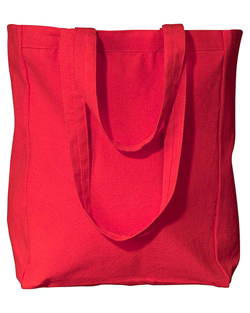 UltraClub 8861 Unisex Tote with Gusset at GotApparel