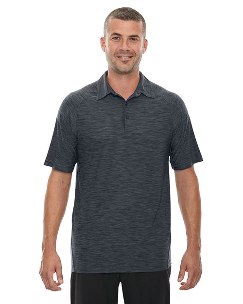 North End 88668 Men Barcode Performance Stretch Polo at GotApparel