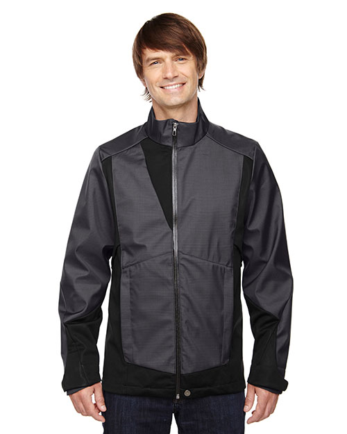 North End 88686 Men Commute Three-Layer Light Bonded Two-Tone Soft Shell Jacket With Heat Reflect Technology at GotApparel