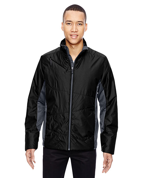 North End 88696 Men Immerge Insulated Hybrid Jacket with Heat Reflect Technology at GotApparel