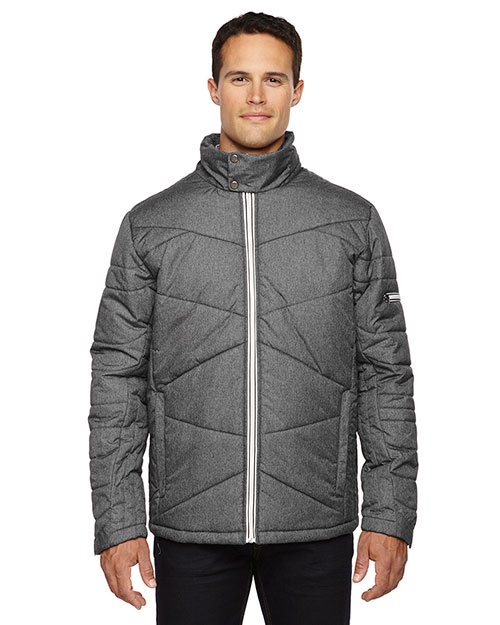 North End 88698 Men Avant Tech Melange Insulated Jacket with Heat Reflect Technology at GotApparel