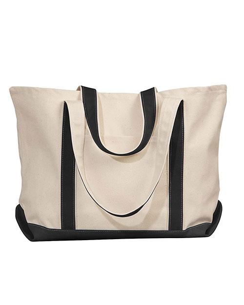 UltraClub 8872 Unisex ExtraLarge Canvas Boat Tote at GotApparel