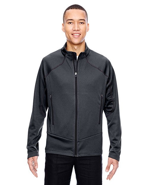 North End 88806 Men Interactive Cadence Two-Tone Brush Back Jacket at GotApparel