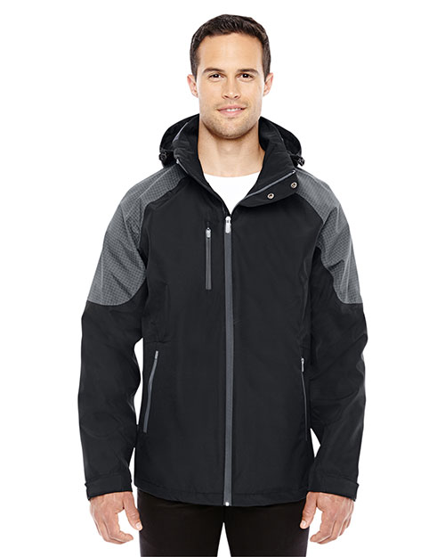 North End 88808 Men Impulse Interactive Seam-Sealed Shell Jacket at GotApparel
