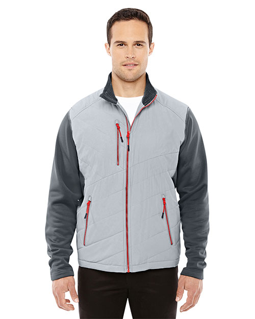 North End 88809 Men Quantum Interactive Hybrid Insulated Jacket at GotApparel