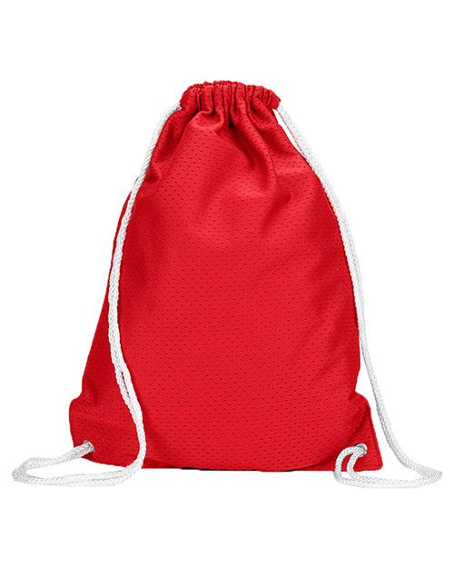 Ultraclub 8895 Unisex Jersey Mesh Drawstring Sport Pack at GotApparel
