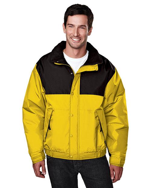 Tri-Mountain 8900 Men Summit Colorblock Nylon Jacket With Fleece Lining at GotApparel