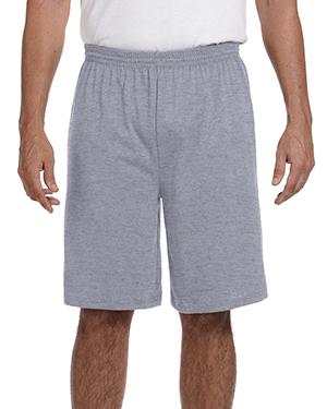 Augusta Sportswear 915 Men 50/50 Jersey Shorts at GotApparel