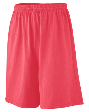 Augusta 916 Boys Longer Length Jersey Short at GotApparel