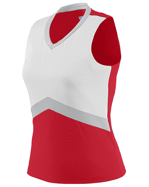 Augusta 9200 Women Sleeveless Cheerflex Cheer Shell V-Neck at GotApparel