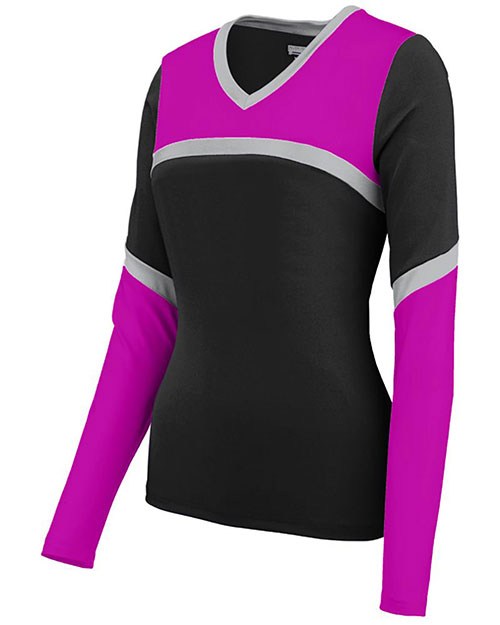 Augusta 9210 Women Rise Up Cheer Shell V-Neck at GotApparel