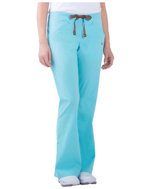 Urbane 9303 Women Zip Pocket Stretch Pant at GotApparel