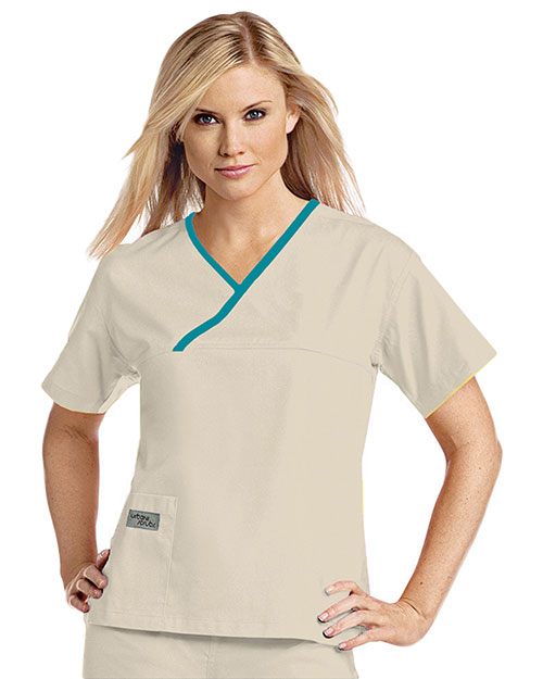 Urbane 9501 Women Classic Crossover Top at GotApparel