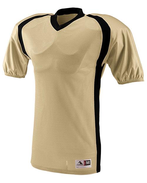 Augusta 9531 Boys Blitz Football V-Neck Short Sleeve Jersey at GotApparel