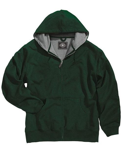 Charles River Apparel 9542 Men Tradesman Thermal Full-Zip Sweatshirt at GotApparel