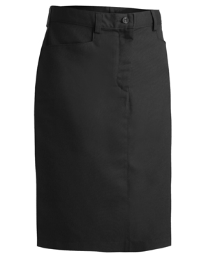 Edwards 9711 Women Casual Chino Skirt at GotApparel