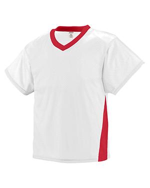 Augusta 9726 Boys High Score Short Sleeve V-Neck Jersey at GotApparel