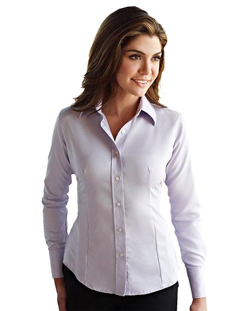 Tri-Mountain Gold 972 Women Brooke Non-Iron Twill Dress Shirt at GotApparel