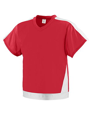 Augusta 9731 Boys Winning Score Short Sleeve V-Neck Jersey at GotApparel