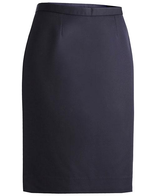 Edwards 9732ED Women Microfiber Straight Skirt at GotApparel